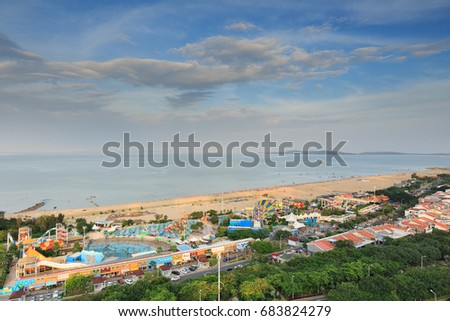 Xiamen Guanyin Mountain Beach,Water World #683824279