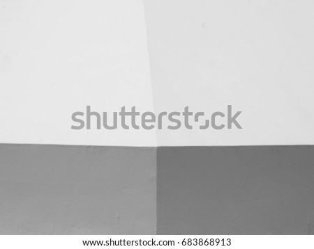 wall design with light and shadow #683868913