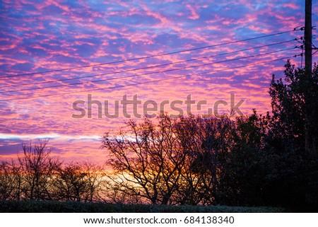 Frosty sunrise #684138340