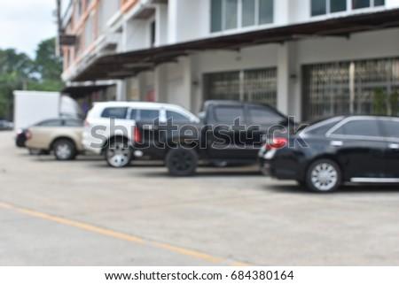 car park blur background #684380164