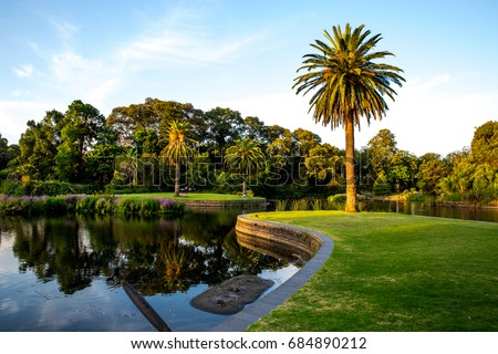 Royal Botanic garden, Melbourne, Australia #684890212