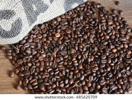 Coffee beans #685620709