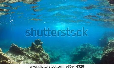 natural underwater background   #685644328