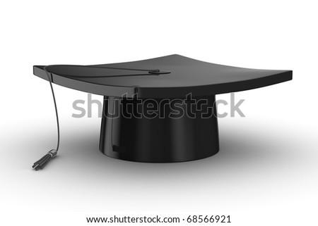 Graduation. Isolated 3D image on white background #68566921