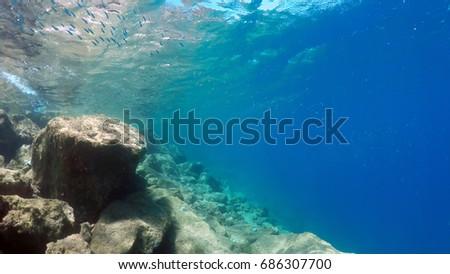 natural underwater background  #686307700