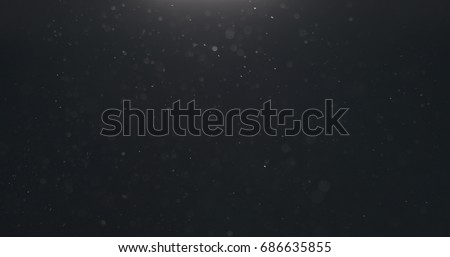 macro shot of dust float for overlay Royalty-Free Stock Photo #686635855