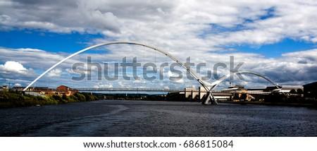 Infinity Bridge Stockton-on-Tees #686815084