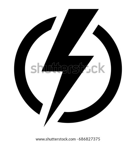 Electric power. Vector. Royalty-Free Stock Photo #686827375
