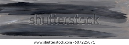 Abstract acrylic painting, background, texture #687225871
