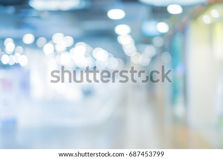 background of shopping mall #687453799
