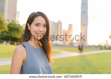 Woman travel in Hong Kong  #687660859