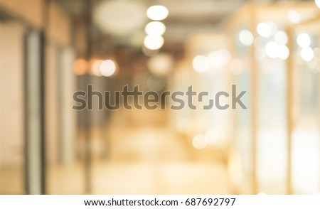 Abstract blurred background with bokeh lights #687692797