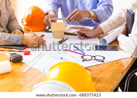 Architect Design Project Meeting Discussion Concept #688375423