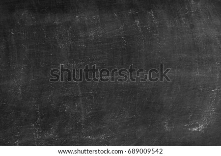 Chalk rubbed out on blackboard background texture #689009542
