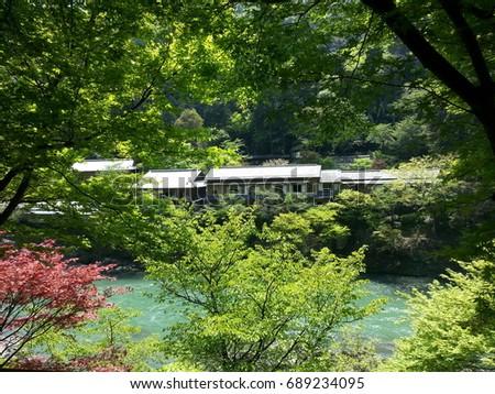 scenery in japan #689234095