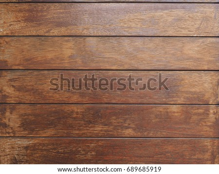 Close up shot of texture of old wooden door that made from hard wood that look classic but luxury at the same time #689685919