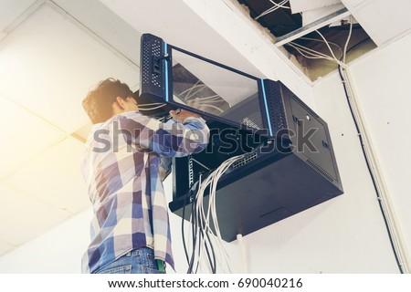 Technician - network installation LAN #690040216