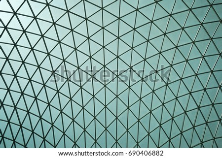 Patterned Roof #690406882
