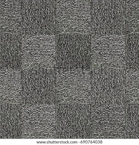 Closeup detail of gray carpet texture background..High-resolution seamless texture #690764038