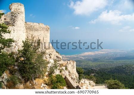 Kantara castle side view #690770965