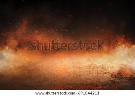 Background - Fire - Lava