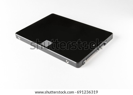 Solid state drive - isolated #691236319
