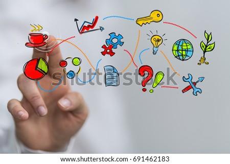 business concept #691462183
