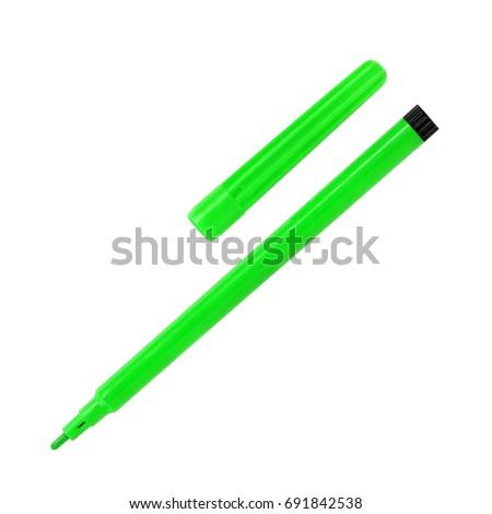 marker pen isolated on white background #691842538