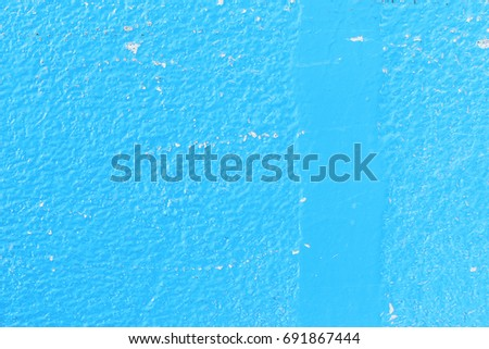 Abstract blue cement wall texture and background #691867444