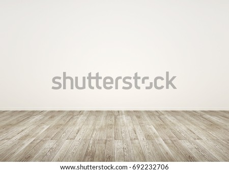Empty room. white interior. 3D illustration. #692232706