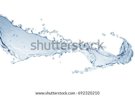 Water splash,water splash isolated on white background,water #692320210