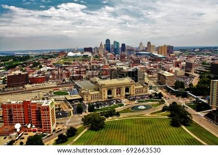 Kansas City Skyline  #692663530