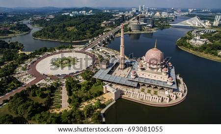 Mosque at Putrajaya #693081055
