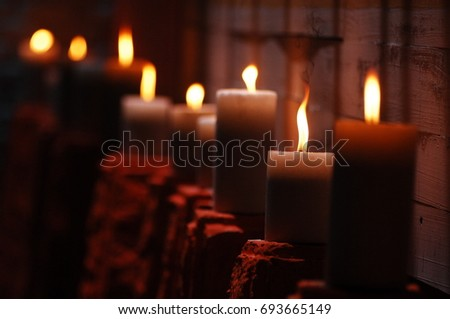 Candle Light at Home #693665149