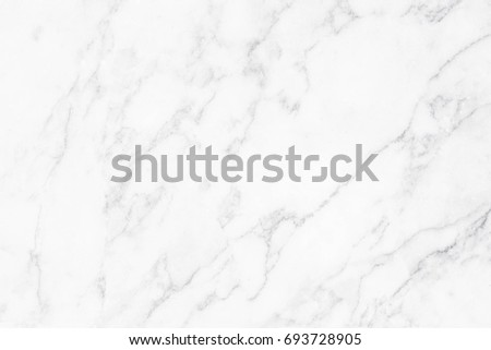 White marble texture with natural pattern for background. #693728905