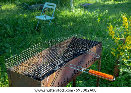 BBQ and grill outdoor. #693882400