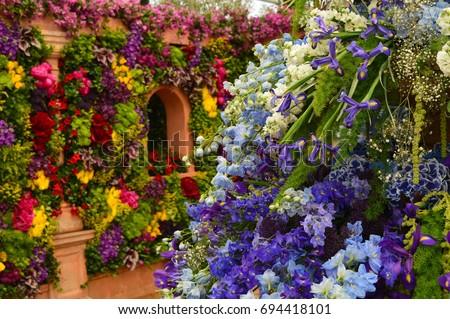 chelsea flower show 2017 #694418101