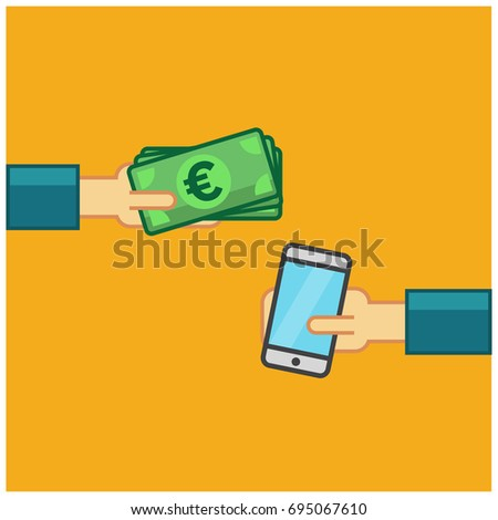 Buying A Smart Phone With Euros in Cash #695067610
