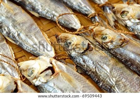 Dried salt Fish #69509443