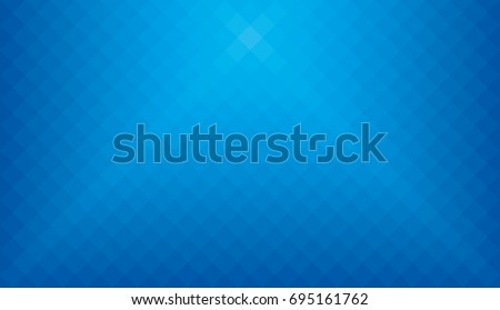 Blue Wide screen webpage or business presentation abstract background with copyspace. HD 16x9 pixeled vector pattern. No transparents, no gradients.