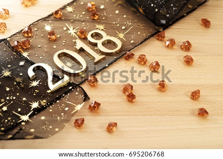 Happy New Year 2018 #695206768
