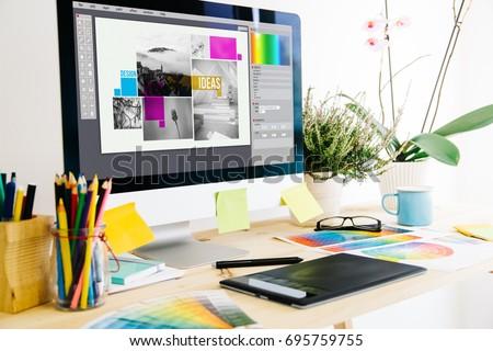 Graphic design studio #695759755