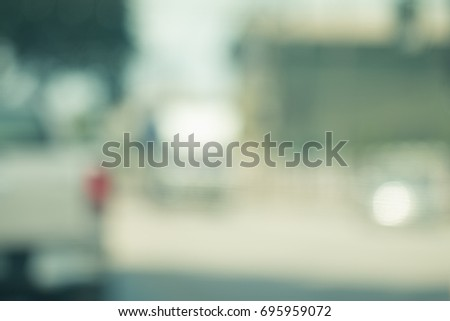 Abstract blurred outdoor for background. #695959072