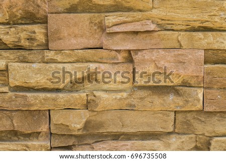 abstract stone bricks wall texture for background #696735508
