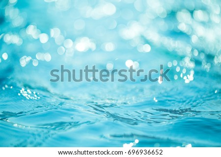 Natural bokeh blue water backgrounds. #696936652