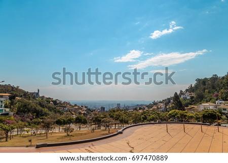 Pope's Square - Landmark at Belo Horizonte, Minas Gerais, Brazil #697470889