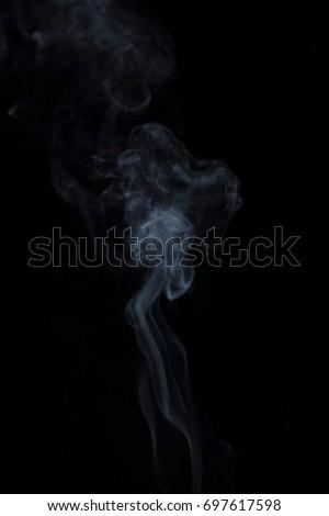 smoke on a black background #697617598