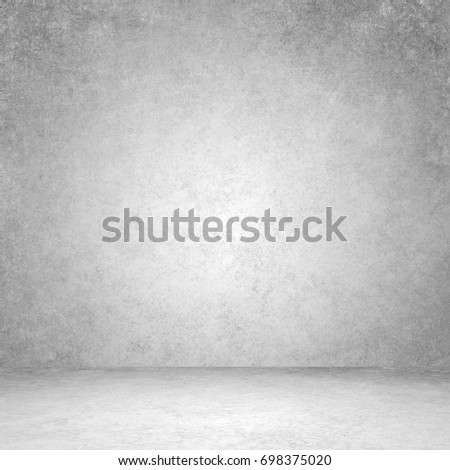 Designed grunge texture. Wall and floor interior background #698375020