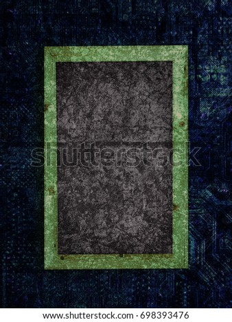 Chalkboard on a Motherboard texture background #698393476