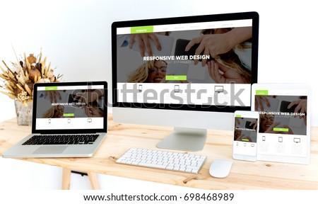 devices on desktop